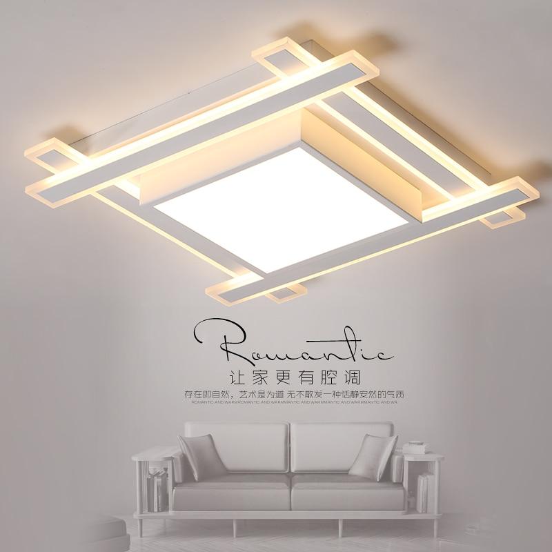 все цены на New Square Chandelier Led For Living Room Bedroom Dining Room Home Lamp AC85-265V Modern Led Ceiling Chandelier Lamp Fixtures