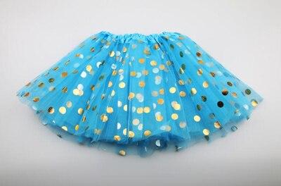 Г. Новая летняя и Осенняя детская юбка детская одежда юбки-пачки для девочек модная повседневная юбка-пачка для принцесс - Цвет: blue