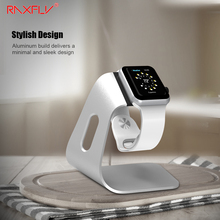 RAXFLY Aluminum Charging Stand Holder For Apple Watch Charging Dock Stand Holder For iWatch High Quality Metal Kickstand Cradle