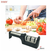 DMD Ceramic Diamond Knife Blade Sharpener Professional Stainless Steel  Three Stage For Kitchen Tools LX1590