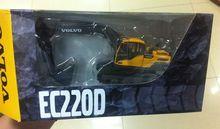 Новый Гусеничный Экскаватор VOLVO EC220D Литья Под Давлением Модели 1:50 Масштаб Бесплатная доставка