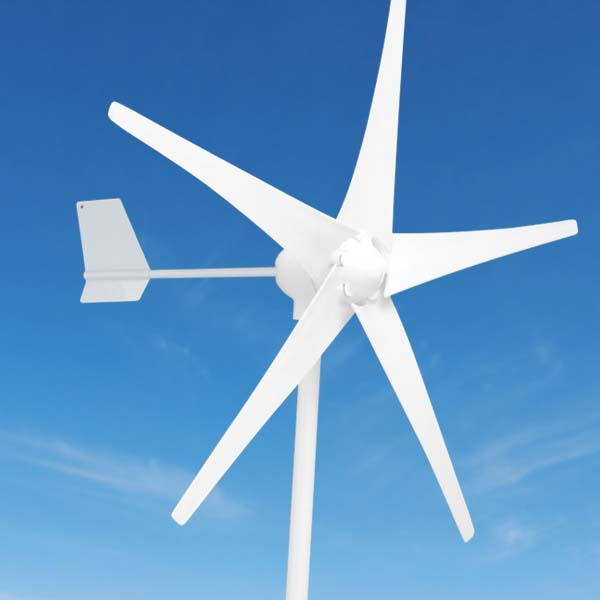 700W Wind Turbine Generator 24V/48V 5 or 3 Blade 900mm 2.5m/s Low Wind Speed Start windmill , with wind charge controller