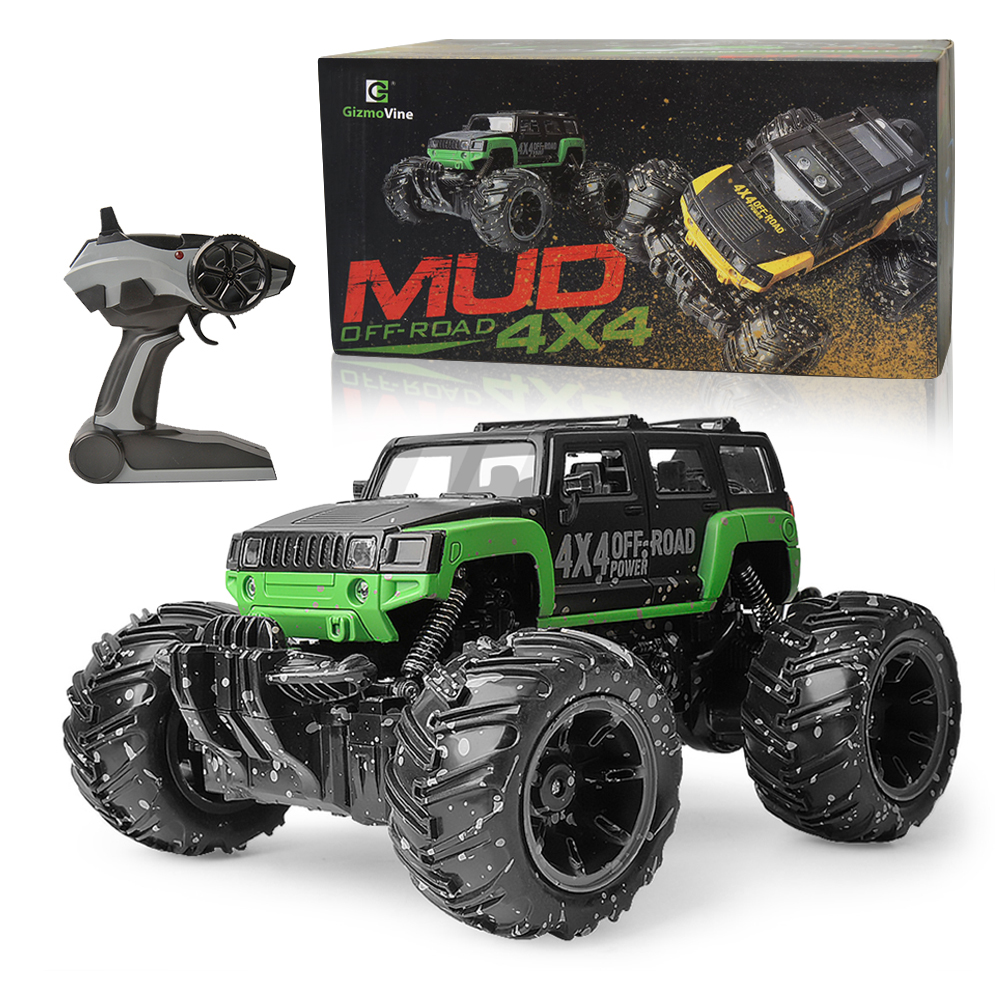 Image 5 - RC Car 2.4G Scale Rock Crawler Remote Control Car Supersonic Monster Truck Off Road Vehicle Buggy xmas gifts for kids-in RC Cars from Toys & Hobbies