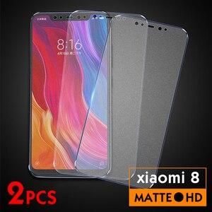 Image 5 - 2 pièces/lot verre trempé mat pour Xiao mi mi 8 mi 8 lite mi 9 mi x3 protecteur décran pour Xiao mi mi 9 8 lite mi x 3 Film de protection