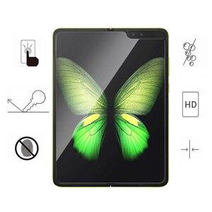 Image 5 - 10PCS Ultra dünne Front Volle Abdeckung Weiche Hydrogel Film Für Samsung Galaxy Falten Screen Protector Schutz Film