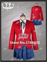 Anime DRAGON TIGER Toradora Aisaka Taiga uniforme escolar falda traje de etiqueta de Cosplay cualquie tamaño nuevo
