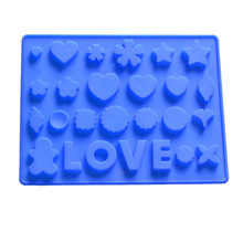 Diy chocolate making small craft soap ice cube mold hand made silicone molds