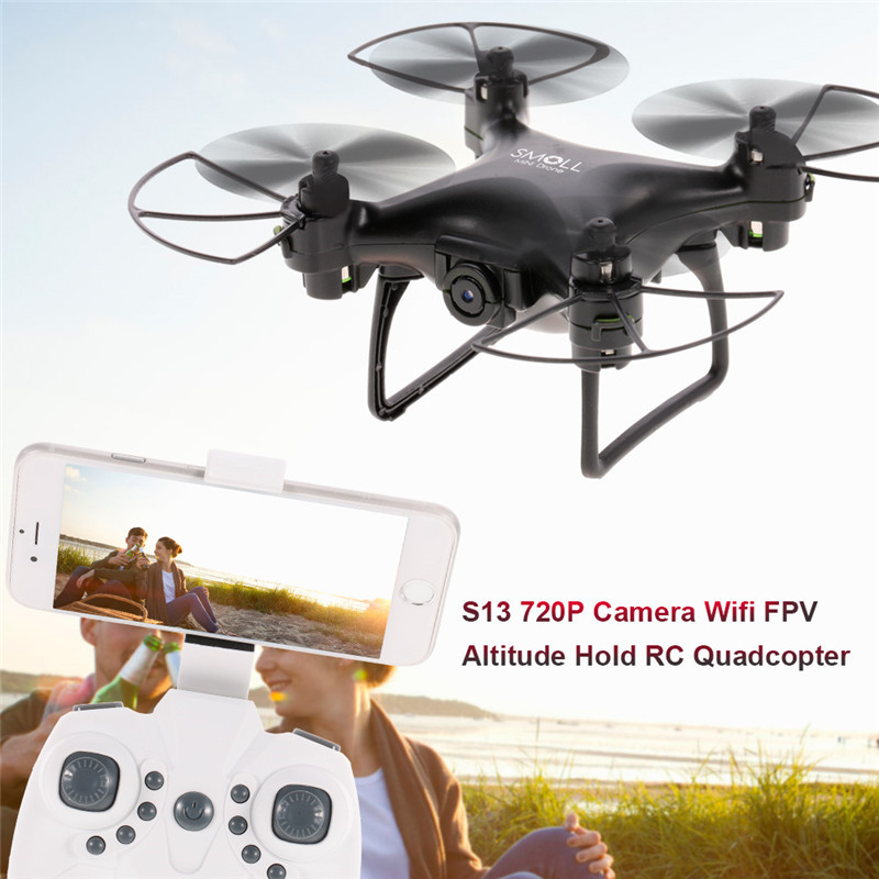 2.4G 4-AXIS Remote Control Quadcopter Drone With HD Camera RC Dron Camera FPV Wifi Professional Helicopter Easy Play Toy ...