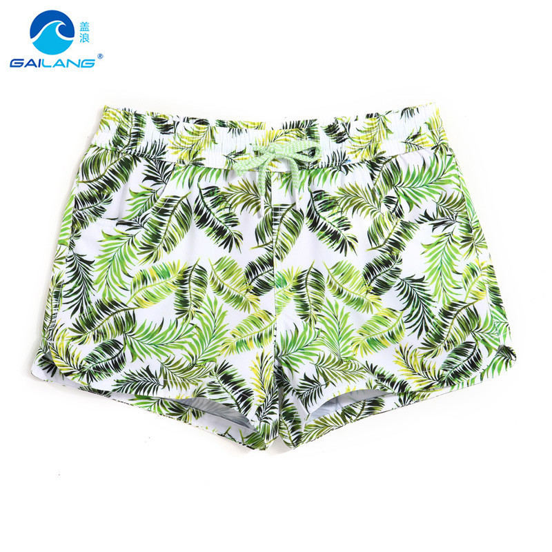 Women   Board     Shorts   Running   Shorts   Women Quick Dry   Short   Surf Homme   Short   Surf Homme Swimming Trunks Swimwear GWA705