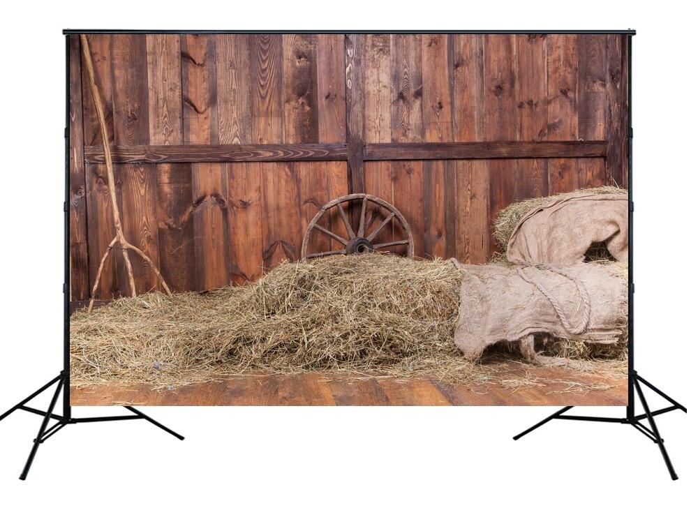 HUAYI Hot Sales Art fabric Farm Backdrop Photography For Newborn Drop Background XT-4240