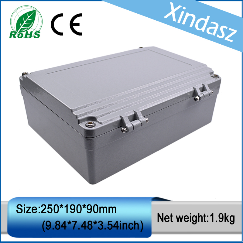 (XD-FA15)250*190*90mm(9.84*7.48*3.54inch)High quality guarantee Sealed Water-proof Diecast Aluminium Enclosure(XD-FA15)250*190*90mm(9.84*7.48*3.54inch)High quality guarantee Sealed Water-proof Diecast Aluminium Enclosure