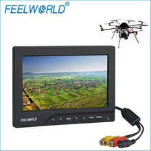 Feelworld 7 Inch 800×480 400cd/m Brightness Ground Station HD FPV Monitor for Drone UAV FPV Aerial Photography FPV769A