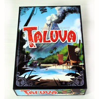 Taluva Board Game 2 4 Players to Play Family/Party/ Friends Funny Classic Strategy Cards Game Best Gift