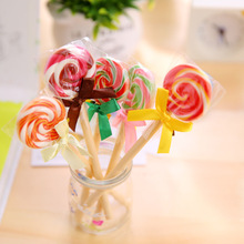 10pcs/lot South Korea  creative stationery lollipops ballpoint pen students gift Lovely
