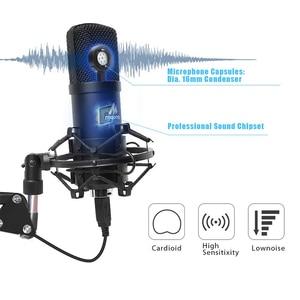 Image 3 - Kit de micro à condensateur USB MAONO Microphone de Studio professionnel Podcast lecture et prise de micro pour PC karaoké enregistrement de jeu YouTube