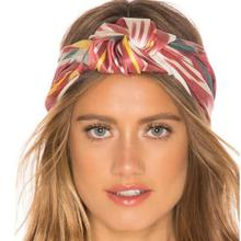 European Hair Accessories Band Ladies Spring and Summer New Print Bohemian Style Headband