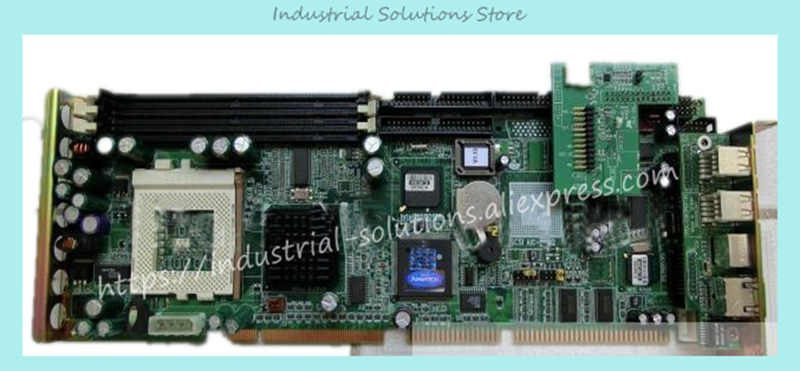Industrial Motherboard PCA-6180E2 Card 100% Tested Good Quality industrial floor picmg1 0 13 slot pca 6113p4r 0c2e 610 computer case 100% tested perfect quality
