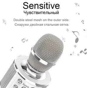 Image 2 - HOCO 가라오케 마이크 블루투스 무선 콘덴서 microfone 전문 휴대 전화 KTV 마이크 음악 플레이어 iOS 안드로이드에 대한