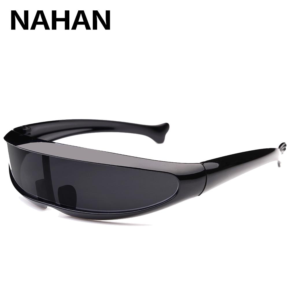 Super Cool Alien Sonnenbrille für Männer Frauen Dolphin Fisch Form ...