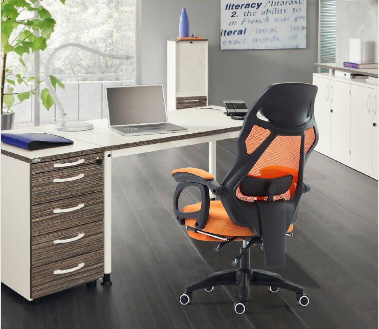 Home Office Chair Net Cloth Chair Ergonomic Chair Swivel Chair Resting On The Boss Chair