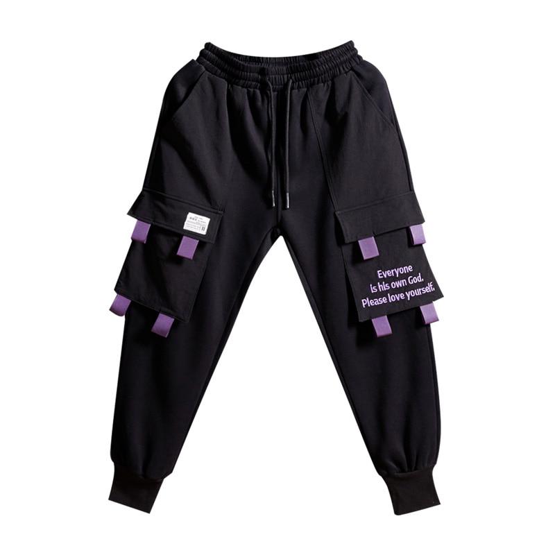 Plushing Tempo Sciolto Grande Inverno Pantaloni Tasca Per In Bf Ispessimento viola Autunno Fondo Strada Il E Di Nero Libero Guardia 1wvFaa