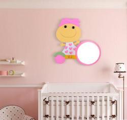 LED kinkiety ścienne dla dzieci pokój sypialnia lampki nocne cute cartoon kreatywny chłopiec dziewczyna lampka nocna ogród LU80235 w Lampy ścienne od Lampy i oświetlenie na
