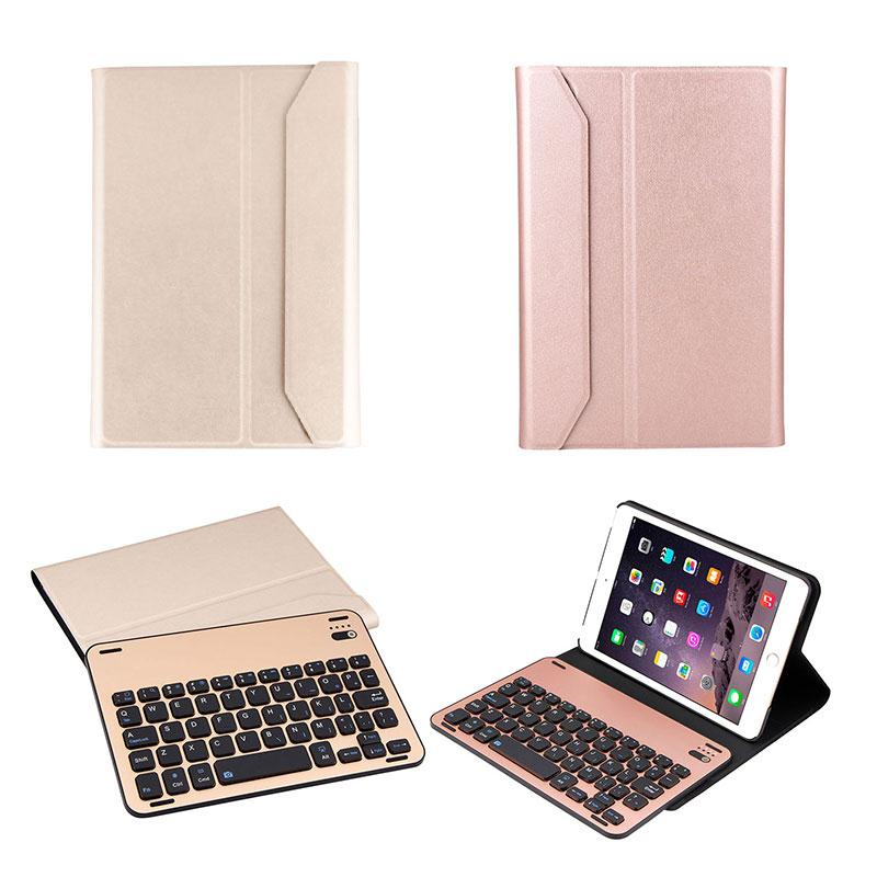 2018 New Magnetic Wireless Bluetooth Keyboard with PU Leather Cover Protective Case Durable For Apple iPad Mini 1 2 3 new ru for lenovo u330p u330 russian laptop keyboard with case palmrest touchpad black