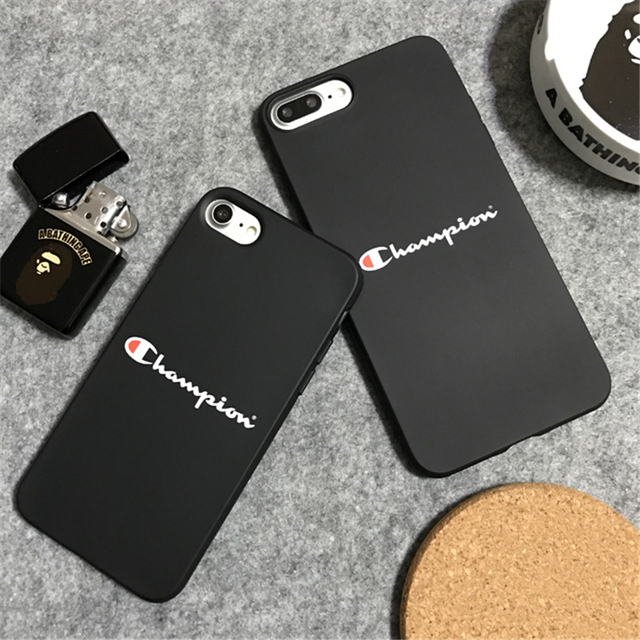 coque iphone 8 champion noir