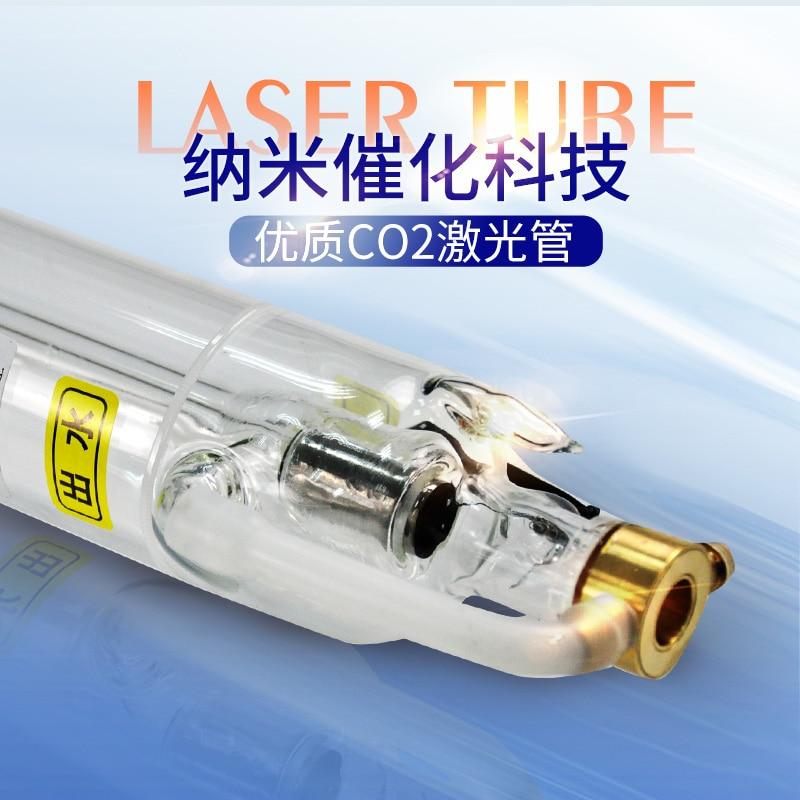Hohe energie super lange garantie CO2 laser rohr 40W700MM fliesen laser gravur und schneiden maschine