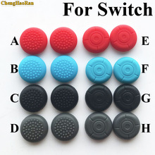2 pcs Silicone Analog Stick cap Grips Caps for Nintendo Switch NS Joy-Con Controller Sticks case Skin for Joy Con Cover game цена