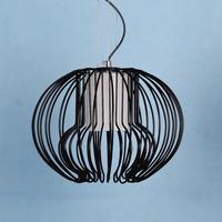 פשוט המודרני creative מסעדת חדר שינה מנורת שולחן בר איקרוס pandent אורות חוט ברזל בסגנון אירופאי