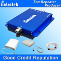 Lintratek GSM 3G Repeater GSM 900MHz UMTS 2100MHz Cell Phone Dual Band Booster GSM WCDMA Signal Repeaters GSM 3G Amplifier S28