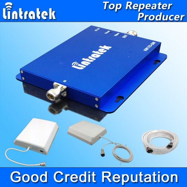 Lintratek GSM 3G Repetidor GSM 900 MHz UMTS 2100 MHz Telefone Celular Repetidores de Sinal de Reforço Dual Band GSM WCDMA GSM 3G Amplificador S28