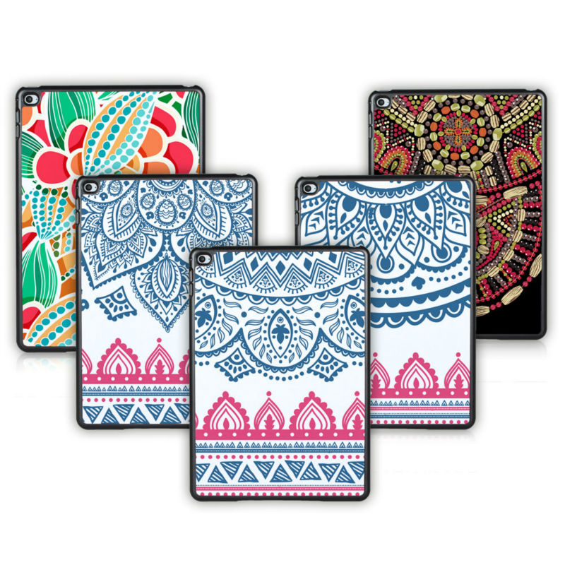 Batianda (TM) Newest Tablet Hard Back cover for apple ipad air 2 case (For iPad 6) With Moroccan Pattern Cover