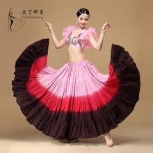 New Design Belly Dancewear Skirt Fashion Adult Women's Cotton Skirt Dance Costume Traditional Dance Tribal Maxi Skirt ATS01037-1