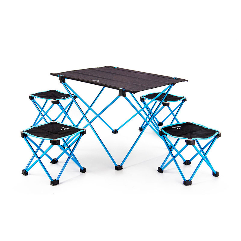Fine Us 70 98 52 Off Portable Garden Sets Foldable Folding Table Chair Desk Camping Outdoor Furniture Garden Picnic Durable 7075 Al Alloy Ultra Light In Bralicious Painted Fabric Chair Ideas Braliciousco