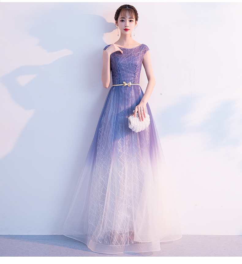 2019 Hot Sale A-line Evening Dresses Long For Formal Party Elegant Long Sleeves Prom Gowns Dresses Tulle Vestido De Noiva Can Be Repeatedly Remolded.