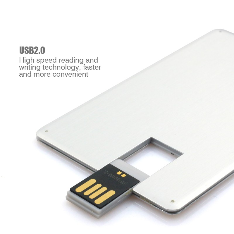 Swivel Metal Business Credit Card Usb flash drive Pen drive Usb ...