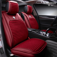 Full Encircled Design Seat Cover Cushion For Hyundai i30 ix35 ix25 Elantra Santa Fe Sonata Tucson 2016 Solaris Veloster Accen