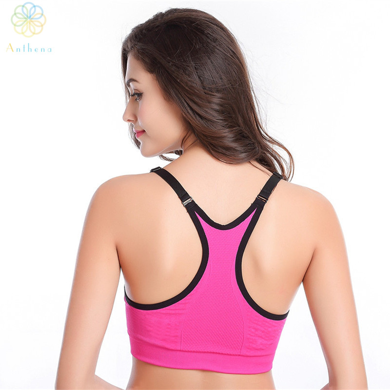 cc687a7dcd Inicio   2016 Women Adjustable Nylon Spandex Sports Bra Fitness Underwear  Yoga Bralette Running Gym Sexy Dew Back Push Up Shaper Bra. Previous. Next