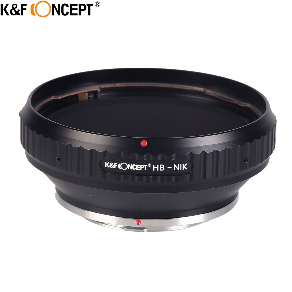 K F CONCEPT Hasselblad For Nikon Camera Lens Adapter Ring For Hasselblad Mount Lens On For