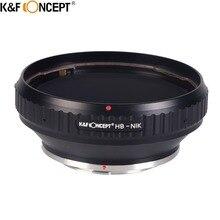 K&F CONCEPT Hasselblad-For Nikon Camera Lens Adapter Ring For Hasselblad Mount Lens On For Nikon D90 D3300 D5100 Camera Body
