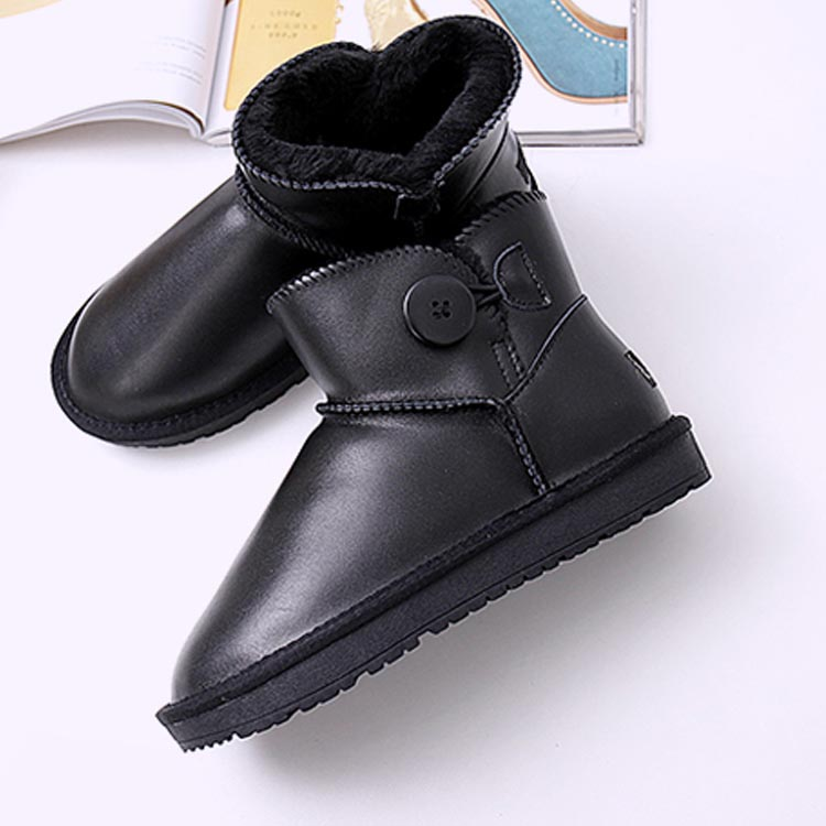 New Brand Women Snow Boots Genuine Leather Women Boots 100 Natural Fur Warm Wool Winter Boots
