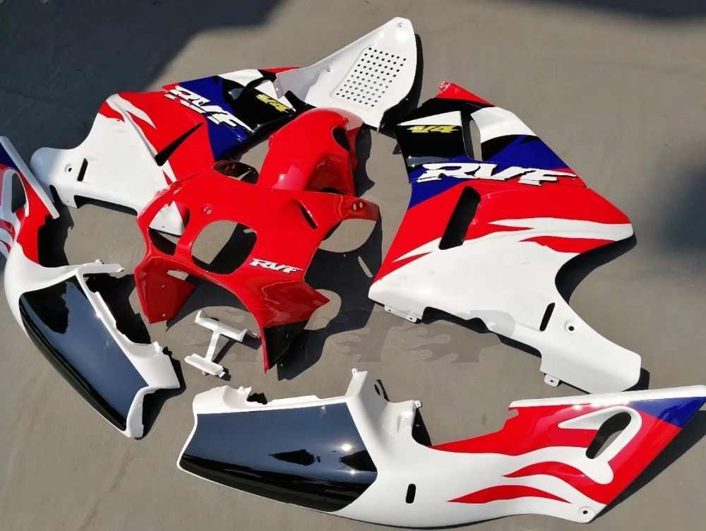 รถจักรยานยนต์ตัวถังรถFairingชุดสำหรับHonda RVF400 R RVF400R NC35 1994-1996 1995 RVF 400R 94 95 96 Fairings