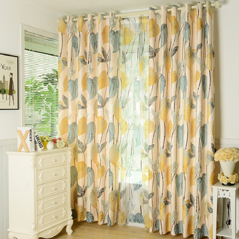 Aliexpress Com Buy Children Room Divider Kitchen Door Curtains Pastoral Floral Window: Popular Floral Country Curtains-Buy Cheap Floral Country