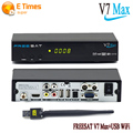 [Genuine]Freesat V7 Max Satellite Receiver HDMI Full 1080P +1PC USB WiFi DVB-S2 Support Ccam powervu youpron Receptor Satellite
