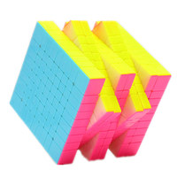 Yuxin Huanglong 9x9x9 Magico Cubo 9x9 Cube Magic Puzzle Professional Cube 9x9 Stickerless cubes Toys For Children