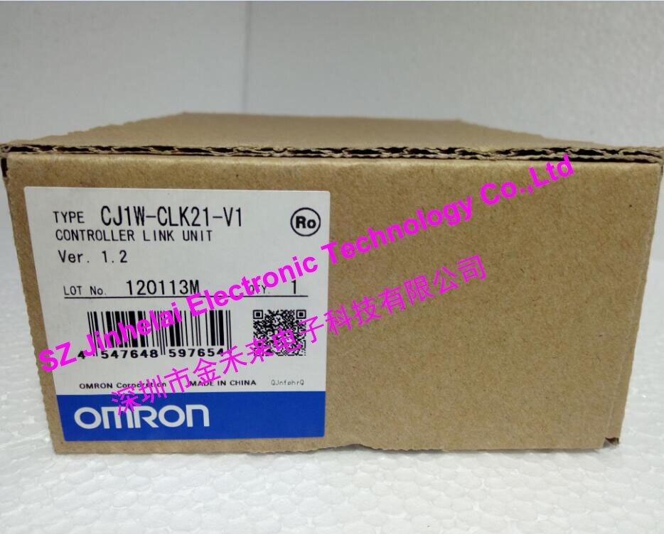CJ1W-CLK21-V1 New and original OMRON PLC Controller Link unit 100% new and original cj1w od213 cj1w 0d213 omron plc output unit