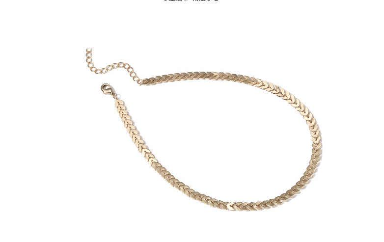 ファッションジュエリーシンプルな魚ネックネック鎖骨ネックレス