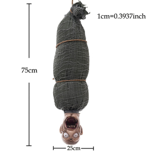 Image 5 - ホラーゴーストハロウィン装飾小道具怖いお化け家ゾンビバット装飾小道具バーパーティー発光トリッキーおもちゃ